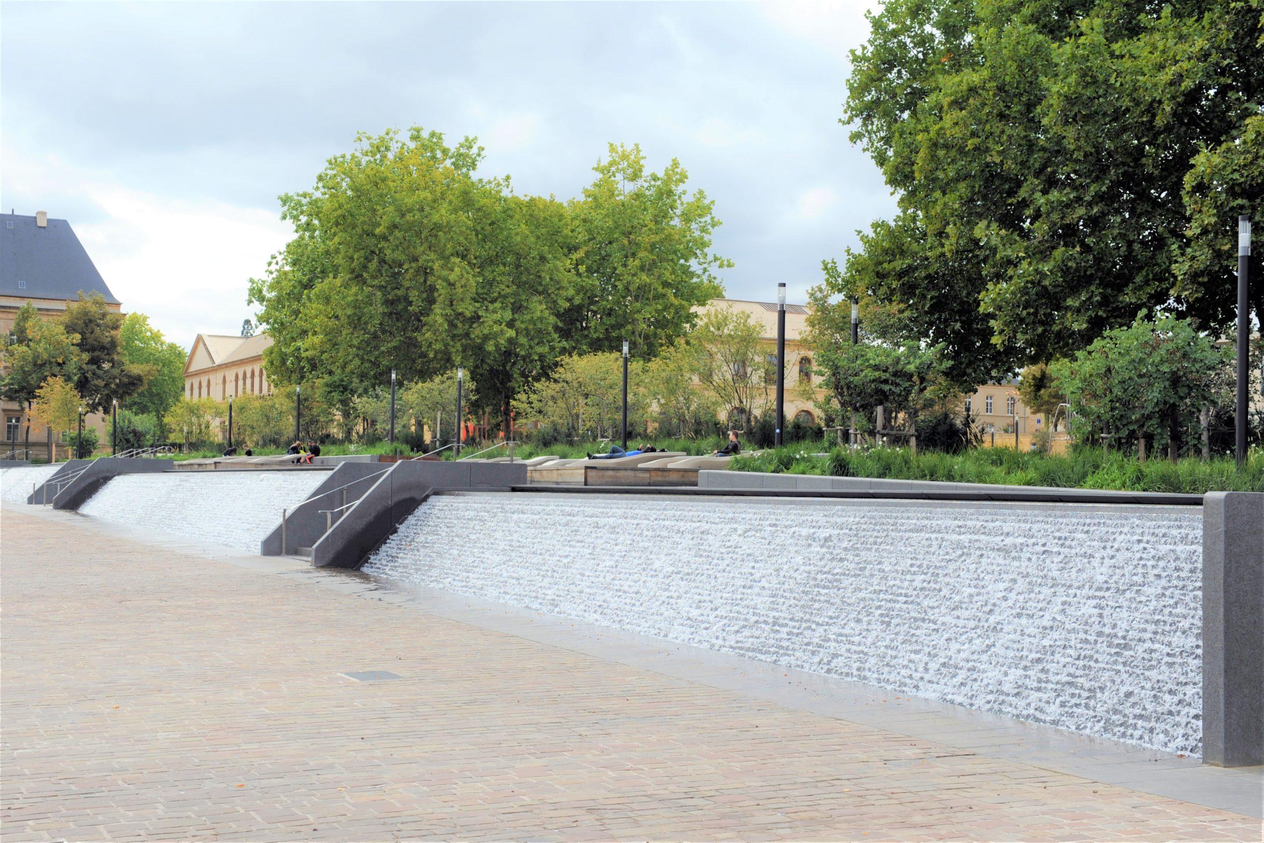 Fontaine Place de la République à Metz